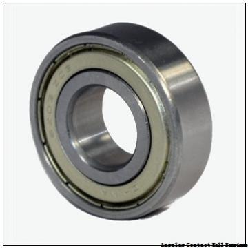 1.378 Inch | 35 Millimeter x 3.15 Inch | 80 Millimeter x 1.374 Inch | 34.9 Millimeter  NACHI 5307ZZ  Angular Contact Ball Bearings